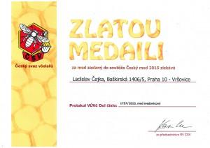zlata-medaile - medovicovy